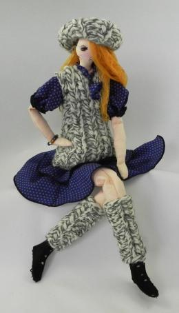 Gershman Marina. Monica ( ткань / авторская техника / 2015 г. )