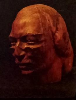Фирер Олег. Шолом - Алейхем ( 39x49 см / дерево / 1969 г. )