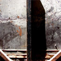 Чак Лилия. Iron Lines #1. ( 80x80 см / смешанный / смешанная техника / 2008 г. )